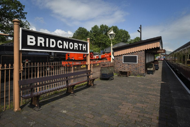 The Severn Valley Railway at Bridgnorth