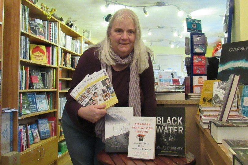 Festival chair, Susan Caroline, of Pengwern Books