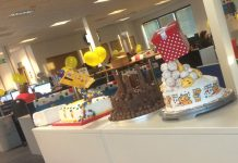 Lyreco last year held a bake-off in its call centre in aid of Children in Need