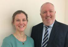 Charlotte Pinsent and Colin Davies of Linder Myers Shrewsbury