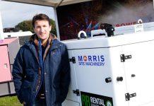 Chris Morris with new Inmesol range