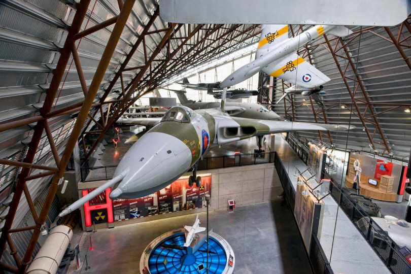 RAF Museum Cosford is also the only place in the world where you can see all three of Britain's V-Bombers including the Vulcan. Photo: ©Trustees of the Royal Air Force Museum