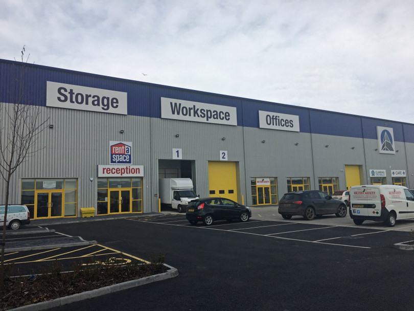 Busy start for shrewsbury s 3 million business incubator and storage facility - Small storage spaces for rent model ...
