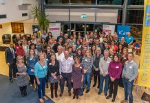 Tweeters gather at a recent @TweetUpShrews which was held at Shropshire Conference Centre. Photo: Steven Oliver Photography