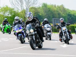 Bikers will make their way from Shrewsbury to RAF Cosford as part of the Bike4Life Ride Out and Festival. Photo: Steven Oliver Photography