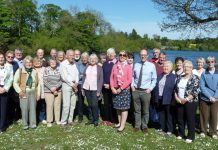 Plant fair supporters who attended an afternoon tea at The Boat House, Ellesmere to celebrate their fundraising success