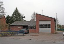 Albrighton fire station