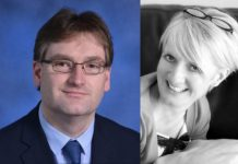Financial expert Mark Parry-Jones and style consultant Sally Inkster