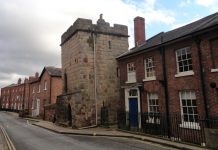 Shrewsbury's Town Walls Tower. Photo: National Trust
