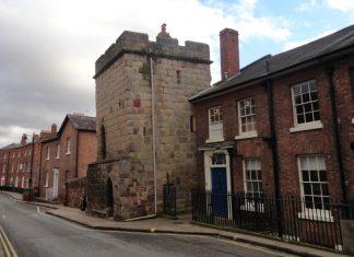 Shrewsbury's Town Walls Tower. Photo: National Trust