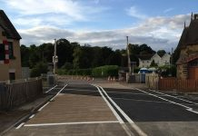 Onibury level crossing. Photo: Network Rail