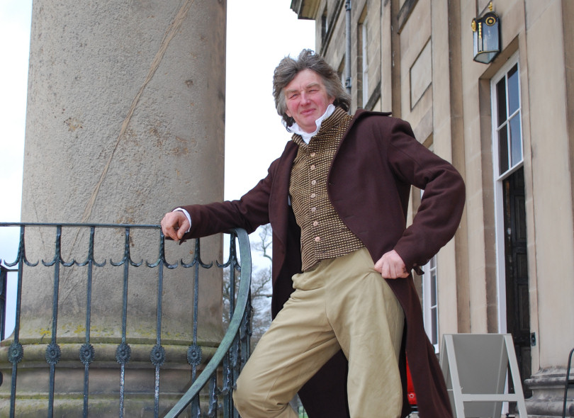 Martin Jones, will be leading the early evening tours at Attingham as 'Thomas, 2nd Lord Berwick'. Photo: National Trust