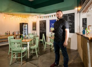 Gindifferent Bar will be one of Shrewsbury Market Hall's many food and drink venues that will be open
