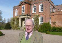 Visitors will be given a tour of the house and gardens by Philip Godsal who co-owns the property