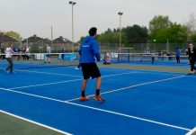The revamped courts at Shrewsbury's Monkmoor Centre will be hosting Great British Tennis Weekend activities on Saturday