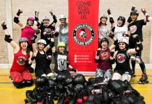 Energize has helped Evolution Rollerderby from Shrewsbury to secure more than £2,000 to buy new equipment