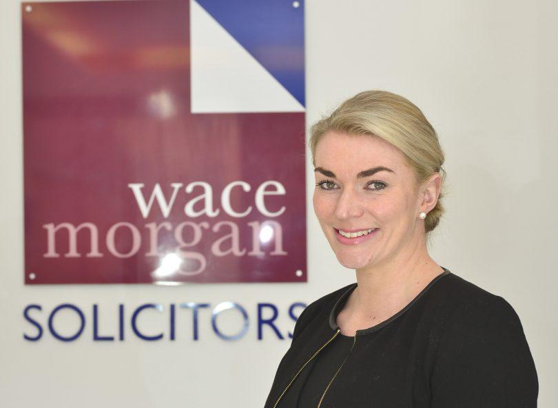 Lizzie Hughes of Wace Morgan Solicitors
