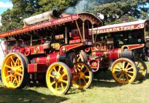 Shrewsbury Steam Rally takes place this weekend