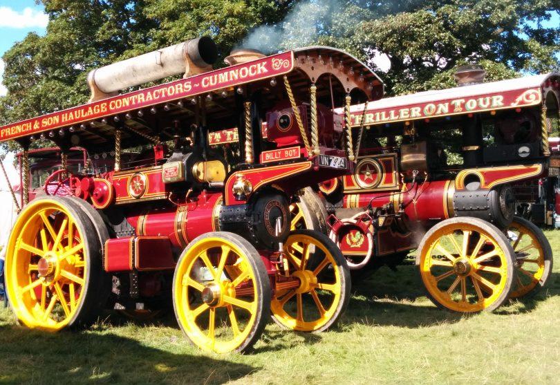 Shrewsbury Steam Rally takes place this weekend. Photo: Chris Pritchard