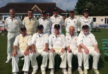 Shropshire's over 60s team