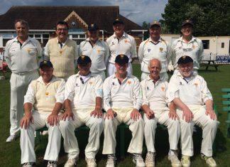 Shropshire's over 60s team