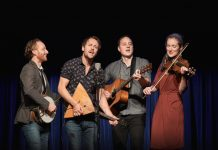 The Fugitives will play two concerts in Shropshire