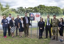 A new play park at RAF Shawbury was officially unveiled earlier this month