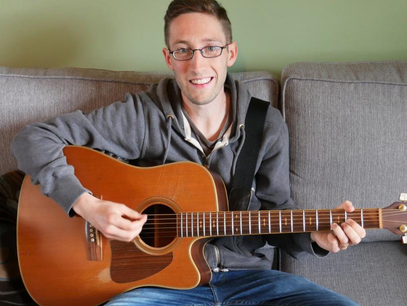 Shrewsbury musician Andy Lowe
