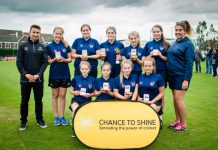 Burton Borough School's Under 13 Girls