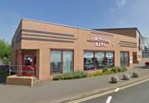 The Dragon King restaurant in Shrewsbury. Photo: Google Street View
