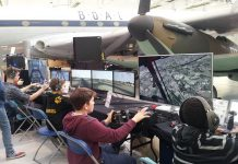 Visitors to the event can enjoy the very best of desktop flying. Photo: ©Trustees of the Royal Air Force Museum