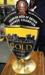 Gold, by south Shropshire-based Ludlow Brewery took bronze in the Golden Ale category of the Champion Beer of Britain 2017 awards