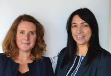 Alison Thornton and Emma Palmer who have been named as Associates at Martin-Kaye Solicitors in Telford
