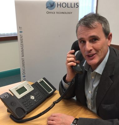 Mark Bamford, General Manager at Hollis Office Solutions