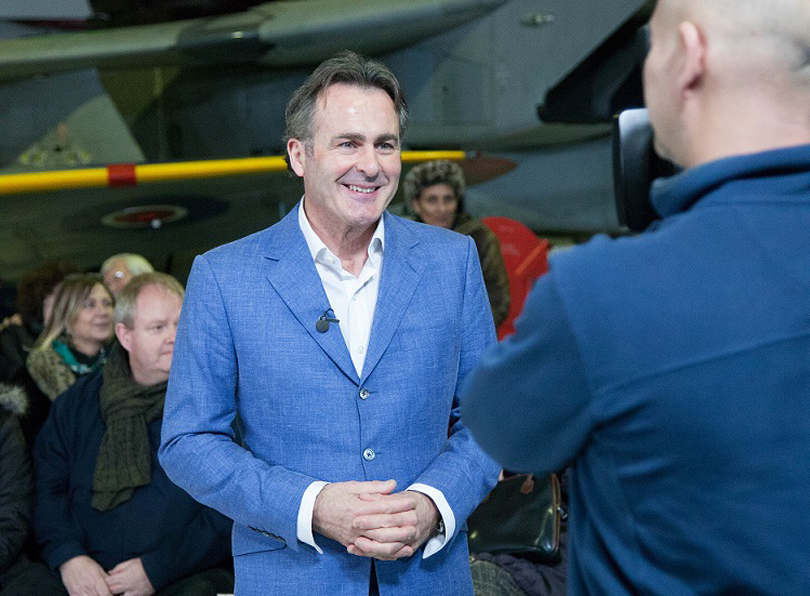 Flog It presenter Paul Martin will be filming four episodes of the show at RAF Museum Cosford