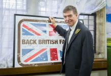 Philip Dunne MP has pledged to Back British Farming at an event in Westminster