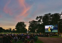 Attingham Park becomes a spectacular outdoor cinema on Friday 8 and Saturday 9 September. Photo: Charlotte Jopling