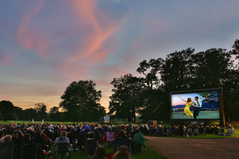 Two nights of open air takes place at Attingham Park this summer. Photo: Charlotte Jopling