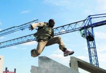 Free runner Sebastian Foucan made parkour world famous when he appeared in the James Bond film Casino Royale
