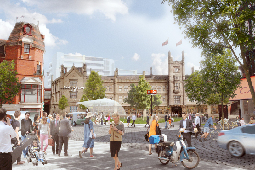 The visionary plan will shape the future of Shrewsbury