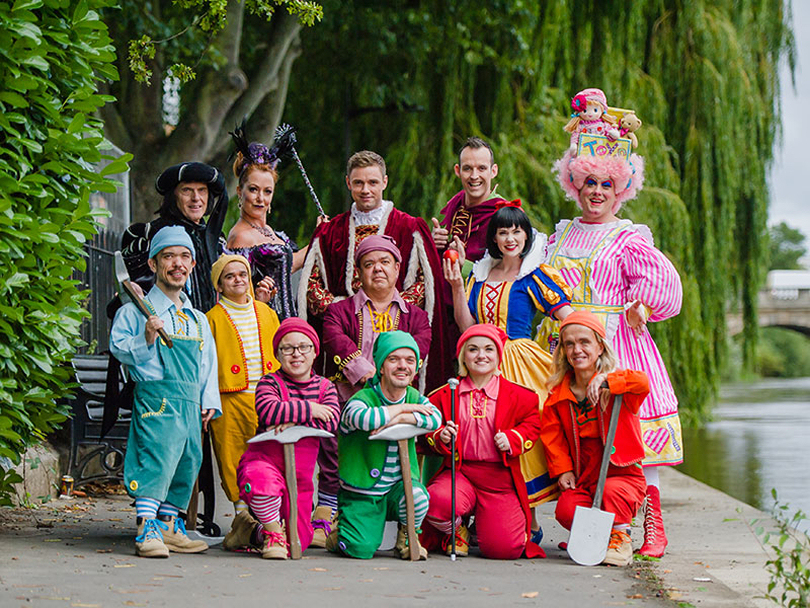Snow White opens on Wednesday 29 November and runs for 68 performances.