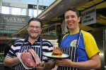 William Dodd, of WD Butchers and Joe Allwood, of Smokin Salop