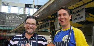 William Dodd, of WD Butchers and Joe Allwood, of Smokin Salop