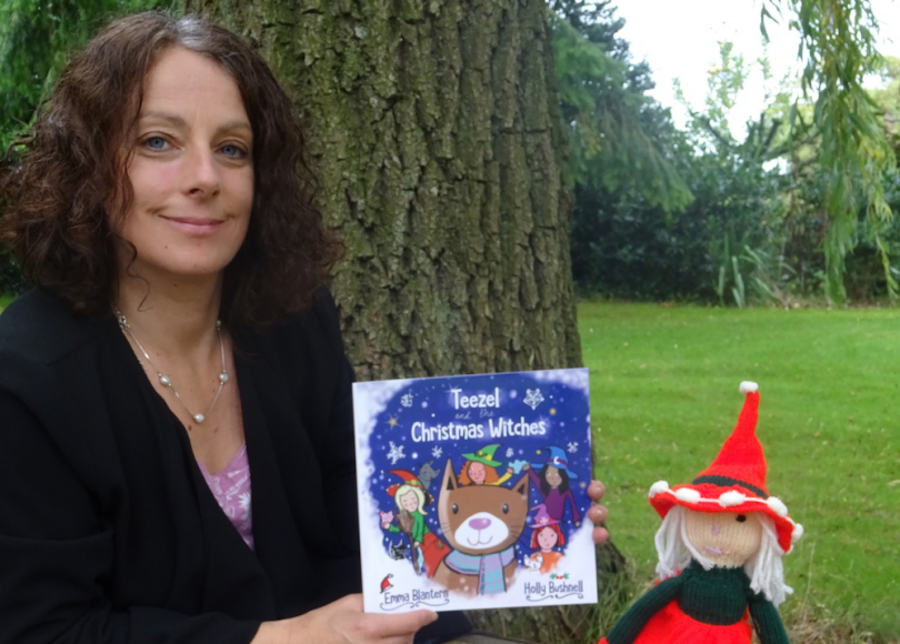 Shropshire mum-of-two Emma Blantern publishes new picture book Teezel and the Christmas Witches