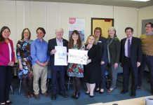 Businesses and Community Support Organisations at the Dragon's Den event at Shropshire Youth Support Trust in Telford