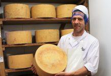 Ludlow Food Centre's Dairy Manager, Dudley Martin has resurrected the extinct cheese, known as 'Shropshire'