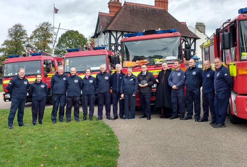 Operation Sabre which left Shrewsbury this week for Romania to deliver five fire engines