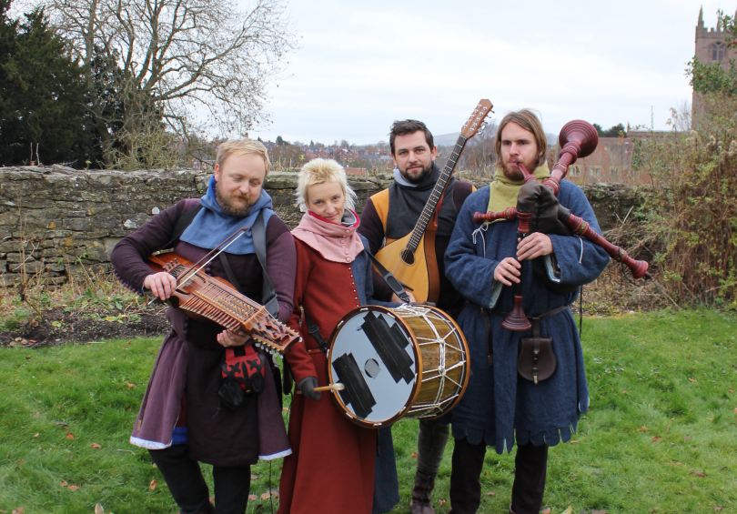 This year's Fayre features a full programme of entertainment throughout the weekend