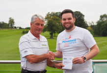 Larry Byrne from Club Choice Ireland with Curtis Langley from The Movement Centre