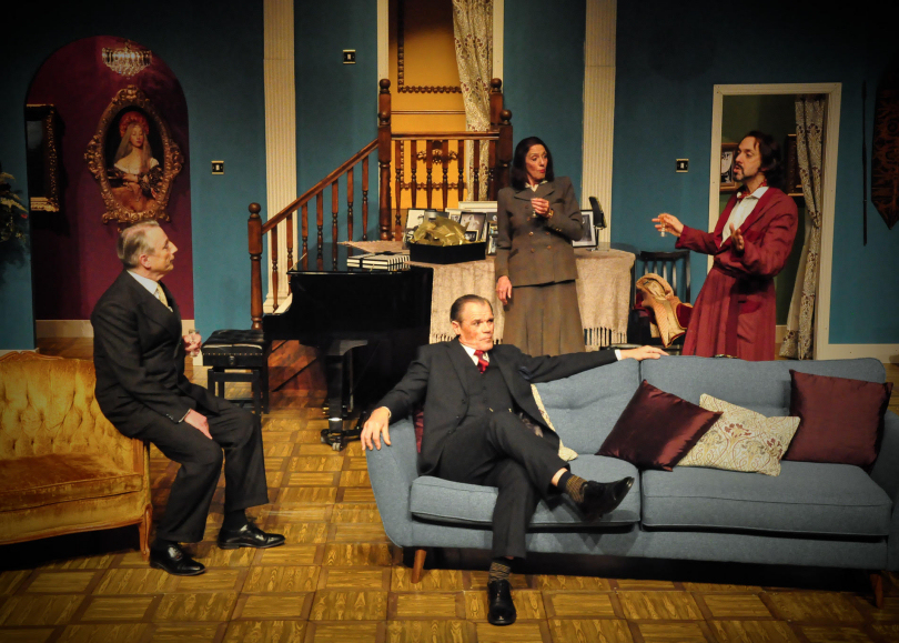 Noel Coward's comedy classic Present Laughter performed by Mad Cow Productions